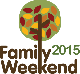 family weekend logo 2015