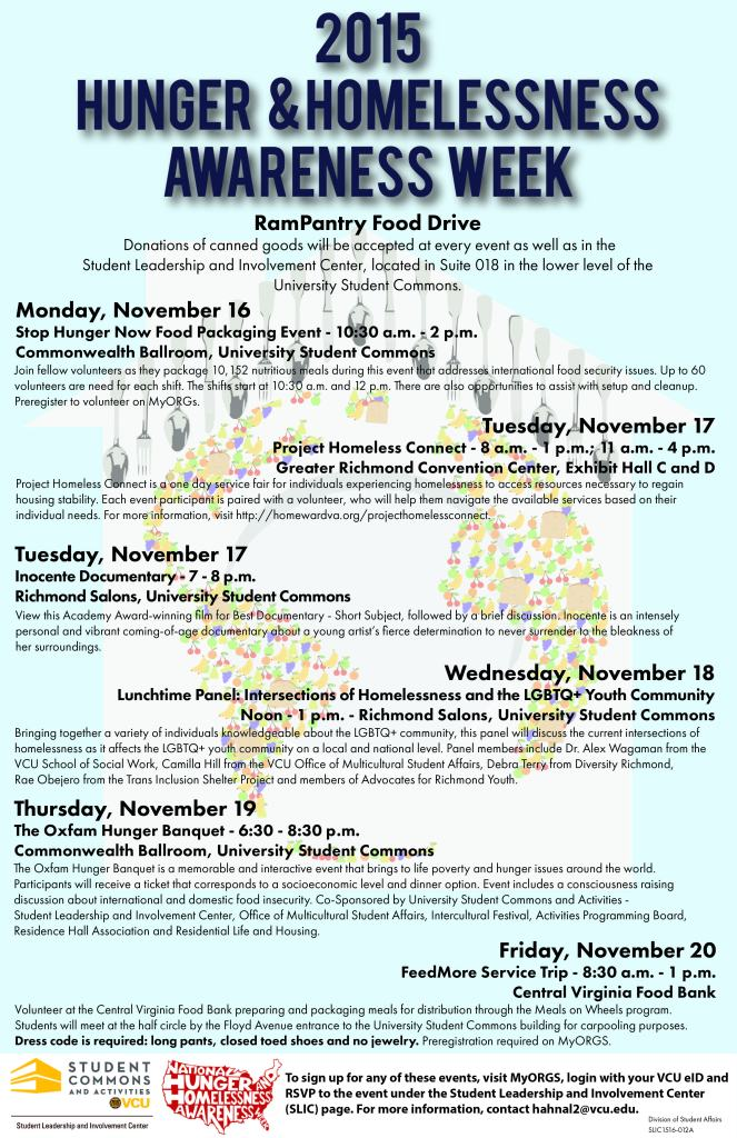 SLIC1516-012A - National Hunger and Homelessness Awareness Week Poster-2