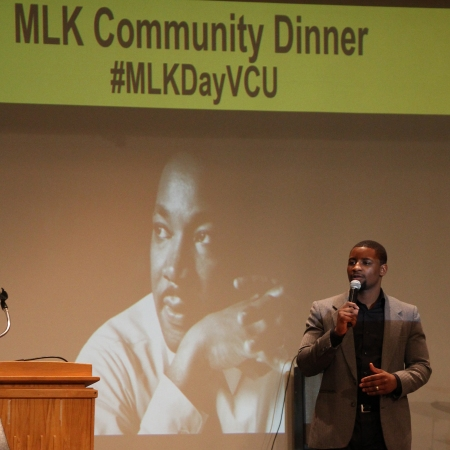 Martin Luther King Junior community dinner