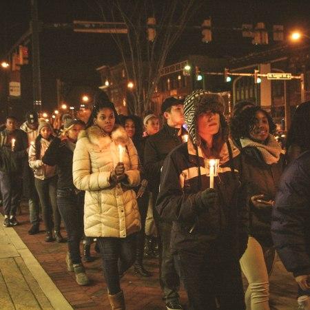 MLK memorial march