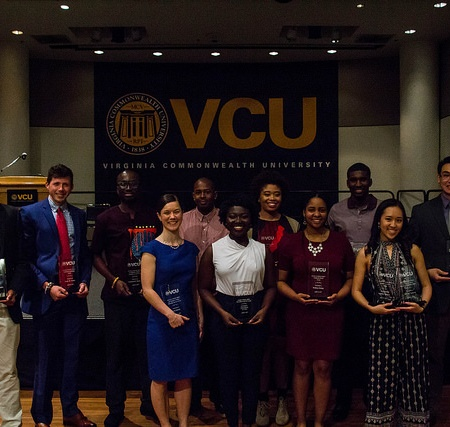 Leadership & Service Award recipients