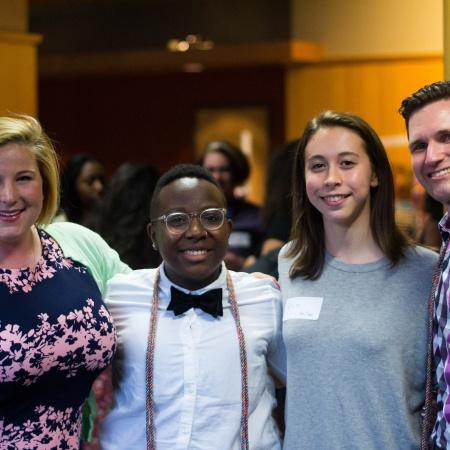 Lavender Graduation group photo