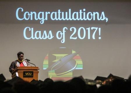 Congratulations Class of 2017 Banner
