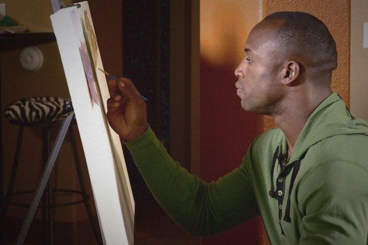 Vernon Davis Painting