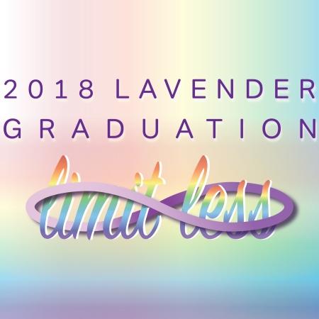 Lavender Graduation 2018 Icon - Limit.Less
