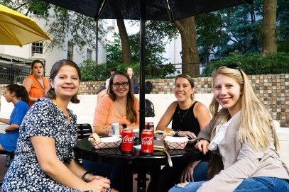 VCU staff members enjoy food at 12 Street Fest