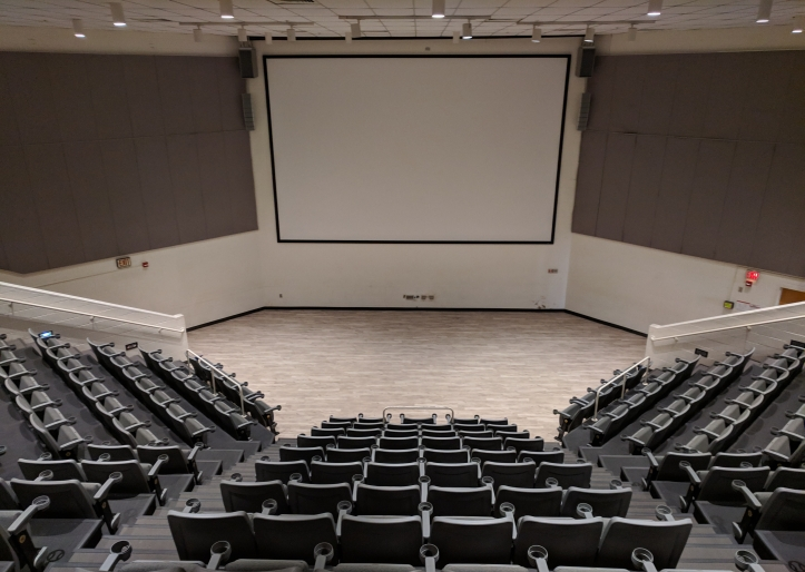 Photograph of renovated Commons Theater