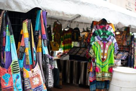Pieces for sale it the Intercultural Festival